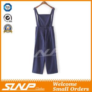 Factory Wholesale Women Suspender Trousers Pants pictures & photos