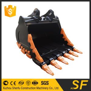 Excavator Parts Crusher Bucket for Dh300 Digger Doosan Excavator Rock Bucket pictures & photos