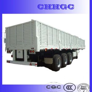 CCC ISO Two or Three Axles Side Wall Cargo Trailer