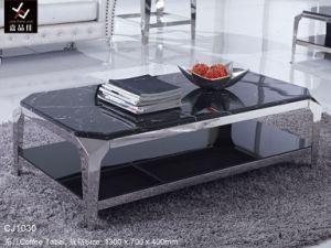 Deluxe & Luxury Modern Stainless Steel Hotel Tea Table (CJ1030)