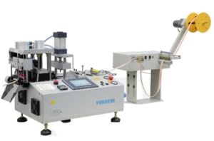 Multi Function Angle Tape Cutting Machine with Hole Punching pictures & photos
