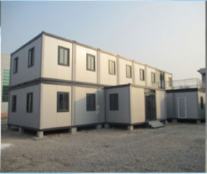 One Floor Heat Insulating PU Container School pictures & photos