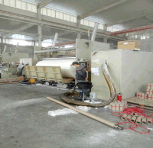 High Speed Tissue Paper Roll Rewinding Machine pictures & photos