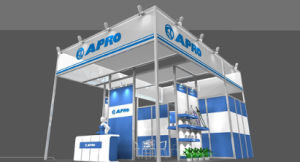 Aluminum Maxima Customized Exhibition Booth Display Stand pictures & photos
