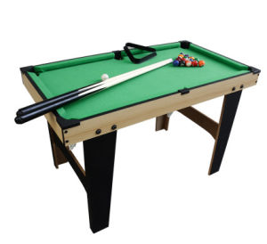 Wooden Children Pool Table with Cheap Price pictures & photos