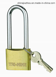 M-Thick Type Brass Padlock with Long-Shackle (BS320L) pictures & photos