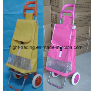 Shopping Trolley Luggage Bag with 2 Wheels for Supermarket pictures & photos