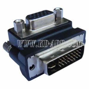 DVI to VGA Right Angle Adapter (KDAM_DV_005)