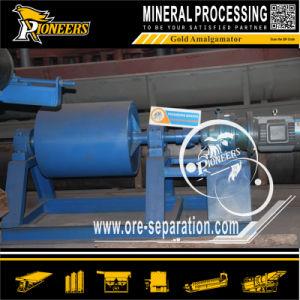 Gold Refining Machine Mercury Amalgamation Cylinder Gold Milling Amalgamator