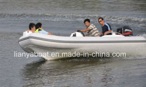 Liya 7people Fishing Boat Hypalon Rigid Inflatable Boat pictures & photos