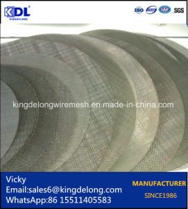 Anping Factory Wire Mesh Circular Filter as Water Filter pictures & photos