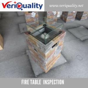 Fire Table Quality Control Inspection Service at Nanan, Fujian pictures & photos