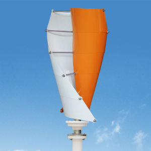 200W Home Use Small Vertical Wind Turbine, Low Rmp Generator pictures & photos