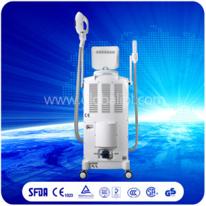 3 Handles Shr IPL Hair Removal and Skin Rejuvenation Machine pictures & photos