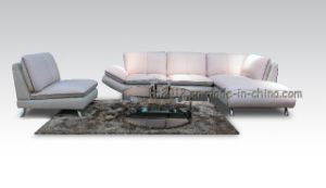 Living Room Genuine Leather Sofa (SBL-563) pictures & photos
