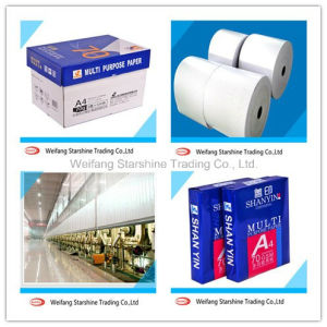 High Brightness A4 Copy Paper in Office pictures & photos