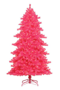 2016 New PVC Tips Pink Christmas Tree