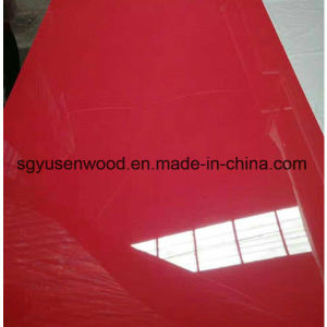 High Glossy Melamine MDF for Kitchen Furniture pictures & photos