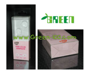 Clear Plastic Packaging Box for Earphone (W-18)