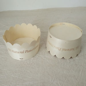 Soft Round Wooden Bread Cheese Cake Packaging Box for Food pictures & photos