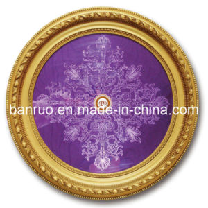 Sales The First Luxurious Ceiling Decoration for Living Room (BRRD80-F-117-I) pictures & photos