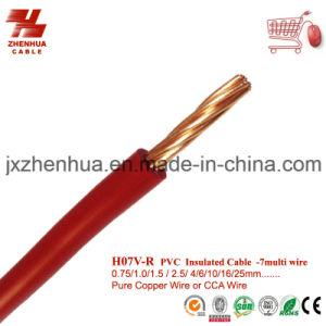 1.5mm 2.5mm 4mm PVC Copper Cable Manufacturer pictures & photos