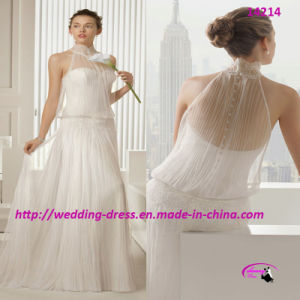 2015 Fit and Flare Nice Wedding Dress with Full Length pictures & photos