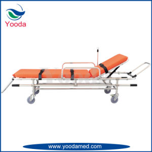 Full Auto Loading Aluminum Alloy Ambulance Stretcher pictures & photos