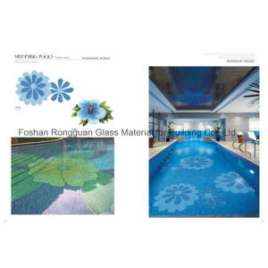 Building Material of Glass Mosaic for Swimming Pool Tile pictures & photos