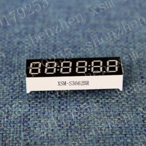 6 Digit 7 Segment LED Numeric Display