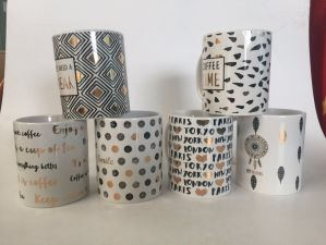 Real Gold Decal Promotion Mug pictures & photos