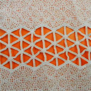 Water Soluble Cotton Garment Accessories Lace Fabric (L5113) pictures & photos