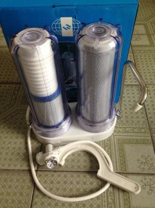 Tap Water Purifier with Transparent Cover and Selective Filter Cartridges as Well as Universal Connector pictures & photos