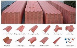 Spain Style Fireproof Roofing Sheet Manufactured pictures & photos