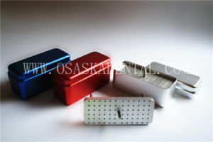 Cheap Dental Equipment Disfect Box for Endo Files 72 Holes Solid Layer pictures & photos