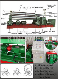 Hydraulic Rolling Machine for Sale (W11-6X3200) pictures & photos