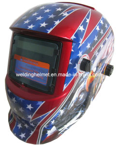 92*42mm/En379/ANSI Autodarkening Welding Helmet (E1190TC) pictures & photos