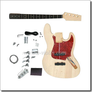 Unfinished DIY Electric Bass Guitar Kits (EBS100-W) pictures & photos