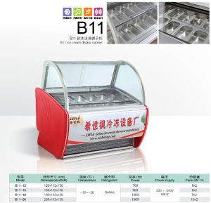 Ice Cream Display Case LED Light/Gelato Case pictures & photos