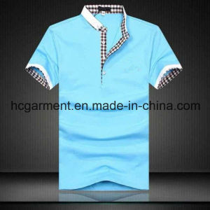Short Sleeve Colorfully Cotton Polo for Man, Men′s T-Shirt pictures & photos