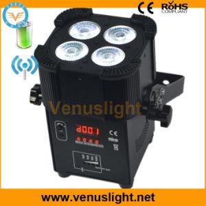 LED PAR DMX Wireless & Battery Party Light