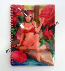 Good Quality Sexy Cartoon Girl Cover 3D Notebook pictures & photos