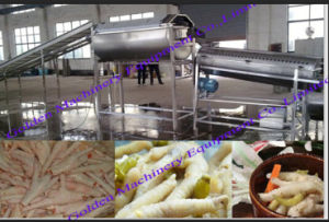 Chicken Feet Paw Peeling Processing Machine (WS) pictures & photos