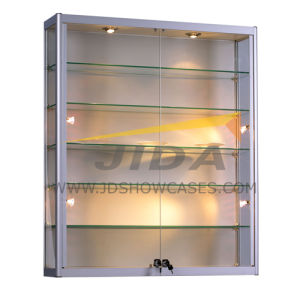 Retail Glass Display Cabinet with Lights (JD-W550)