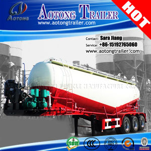 40-70cbm Flour Carrier Bulk Cement Tank Semi Trailer pictures & photos