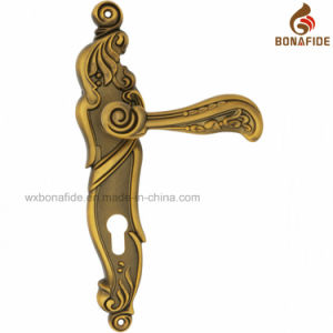 High Quality Security Door Handle pictures & photos