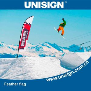 Cheap and High Quality Feather Flags pictures & photos