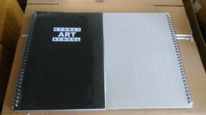 Canvas Drawing Pad Notebook Art Book Art Diary Diary pictures & photos