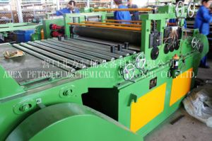 Steel Drum Making Equipment 5-Roller Shear Gauge Flattening Machine pictures & photos