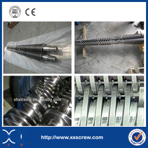 Plastic Extruder Conical Twin Screw Barrel pictures & photos